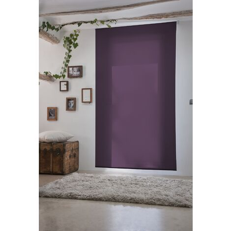 Estor Enrollable Traslúcido Violeta 170x230Cm - Ancho x Largo