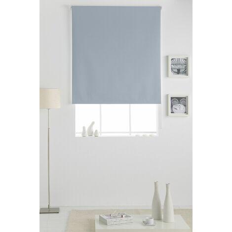 Estor Opaco Enrollable Azul 110x230Cm - Ancho x Largo, Estor dormitorio, Estor enrollable cocina, Estor plegable, Estor enrollable, habitación, salón y dormitorio