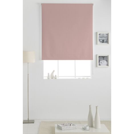 Estor Opaco Enrollable Rosa 130x230Cm - Ancho x Largo