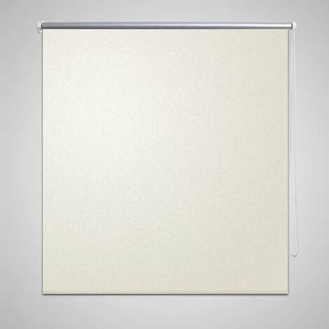 Estor Persiana Enrollable 120 x 230 cm Del Color Blanco HAXD08084