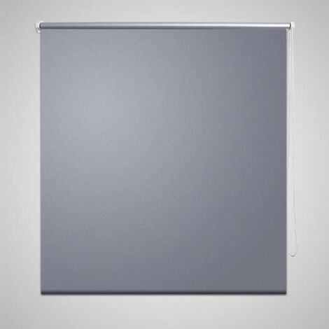 Estor Persiana Enrollable 120 x 230 cm Gris
