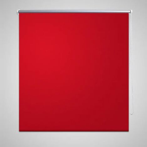 Estor Persiana Enrollable 120 x 230 cm Rojo
