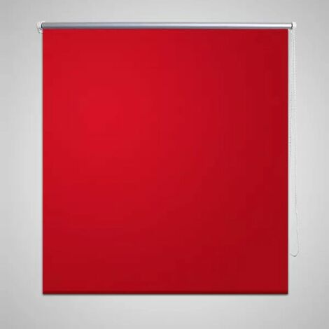 Estor Persiana Enrollable 120 x 230 cm Rojo HAXD08087