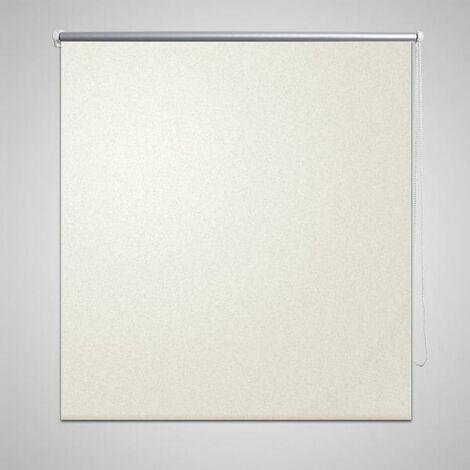 Estor Persiana Enrollable 140 x 230 cm Del Color Blanco HAXD08092
