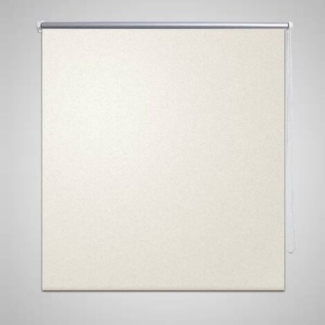 Estor Persiana Enrollable 160 x 175cm Blanco - Crema