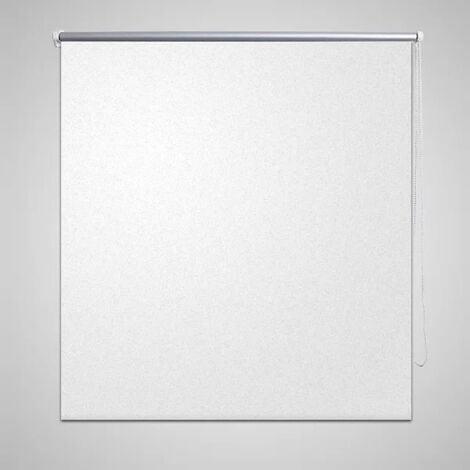 Estor persiana enrollable 80 x 175 cm blanco - Blanco