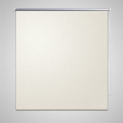 Estor Persiana Enrollable 80 x 175cm De Color Crema - Crema