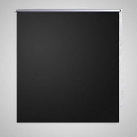 Estor Persiana Enrollable 80 x 230 cm Negro
