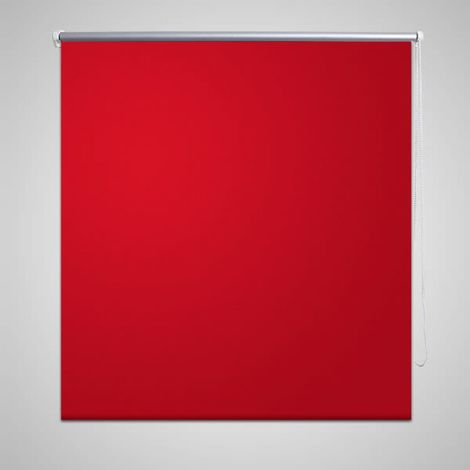 Estor Persiana Enrollable 80 x 230 cm Rojo