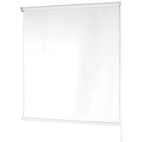 Estores BARATOS Enrollables Poliéster Mecanismo y Cadena en PVC Blanco 80x180 cm