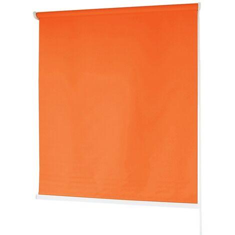 Estores BARATOS Enrollables Poliéster Mecanismo y Cadena en PVC Naranja 120x180 cm