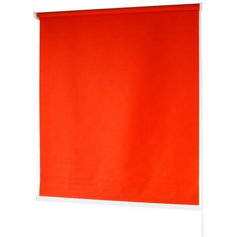 Estores BARATOS Enrollables Poliéster Mecanismo y Cadena en PVC Rojo 120x180 cm