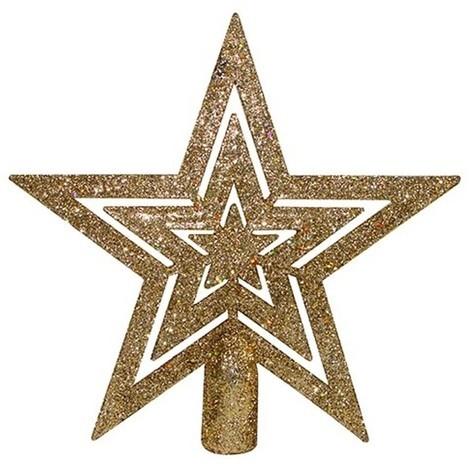 Estrella De Navidad 15Cm Para Arbol - NEOFERR