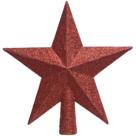 Estrella Roja Para Arbol De Navidad - NEOFERR