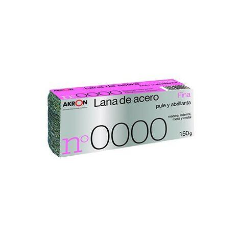 Estropajo Lana Acero Fina 0000 150 G - BARLESA - 2291