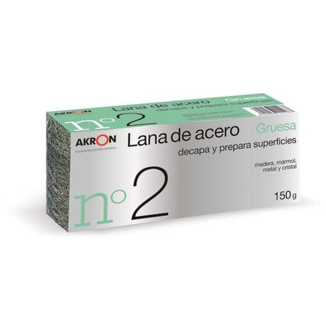 Estropajo Lana Acero Grues N.2 150 G - BARLESA - 2293