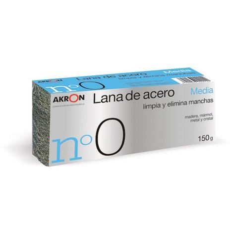 Estropajo Lana Acero Media N.0 150 G - BARLESA - 2292