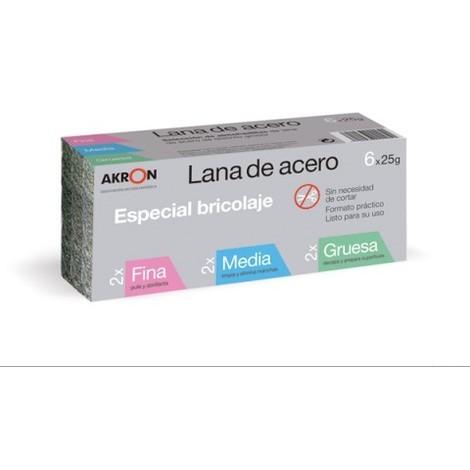 Estropajo Lana Acero Surtido 150 G - BARLESA - 2295