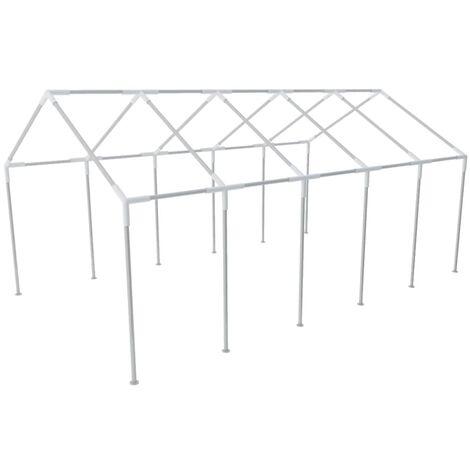 Estructura de carpa de fiesta de jardín acero 10x5 m