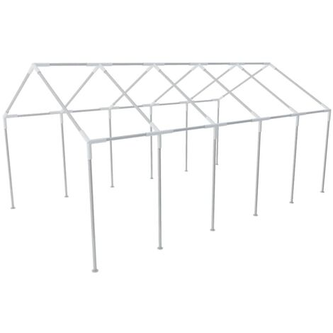 Estructura de carpa de fiesta para jardín de acero 10x5 m