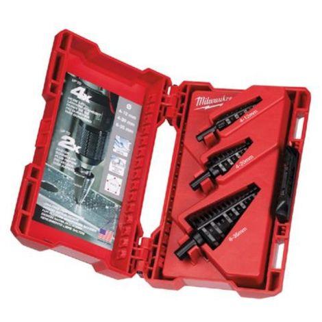 Estuche de brocas escalonadas y Thunderweb HSS-G1 x B.escalonada 4-12mm, 1x B.escalonada 4-20mmBrocas para metal HSS-G 2 x 2