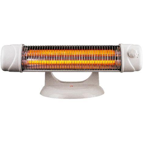 Estufa calefactor de baño 800w 1200w con pie