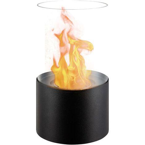 Estufa de bioalcohol decorativa fire Circular. Potencia 610 W - FFB 017 - PVG Qlima