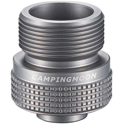 Estufa de camping gas Dispositivo adaptador de conector de gas propano Tanque de gas Converter para acampar al aire libre Senderismo Pesca, Z29-20 (adaptador)