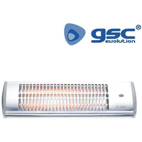 Estufa de cuarzo de baño GSC 600W/1200W