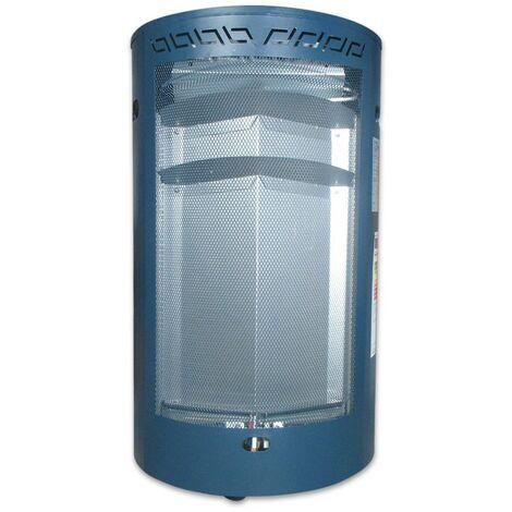 Estufa de gas con llama azul MERCA-BLUE