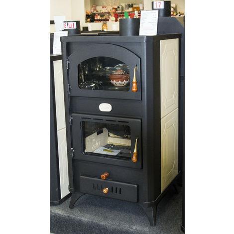 Estufa de leña cocina con caldera Integral Prity W18 FG R