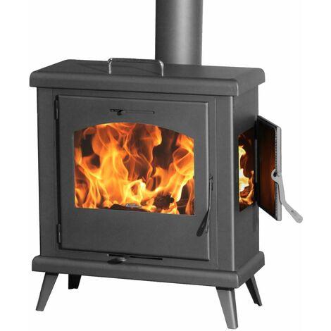 Estufa de leña con horno Plus C3 Doble combustion 8kw A+