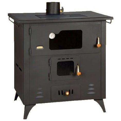 Estufa de leña con horno Prity 1P50R 14 KW