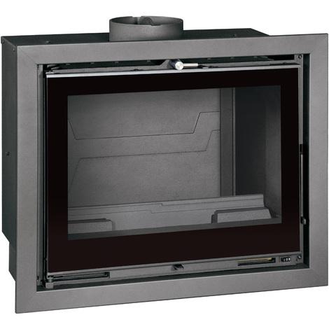 "Estufa de Leña Insertable 11 kW Cassette TJ ""cristal serigrafiado"""