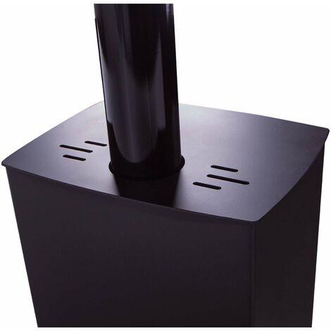 Estufa de leña modelo Alpes Eco Plus 13 KW- Juan Panadero