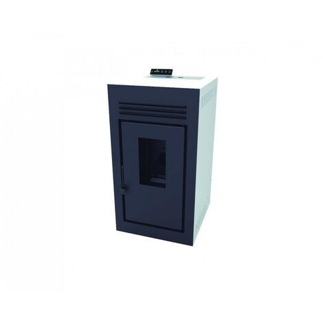 Estufa de Pellets Aire Eco 7,5 Kw Modelo BP-CH1 - BLANCO - FM Calefaccion