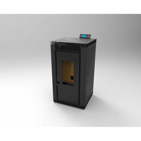 Estufa de Pellets Aire Frontal 12,14 kw Modelo BP-200 K - FM Calefaccion