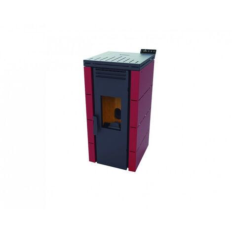 Estufa de Pellets Aire Frontal 9,5 Kw - Burdeos- Modelo BP-100 - FM Calefaccion