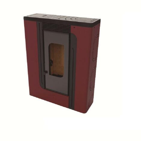Estufa de Pellets Aire Pasillo 12,19 kw Modelo BP-400 K - FM Calefaccion