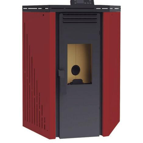 Estufa de Pellets Aire Rincón 9,5 Kw Modelo BP-101 R - FM Calefaccion