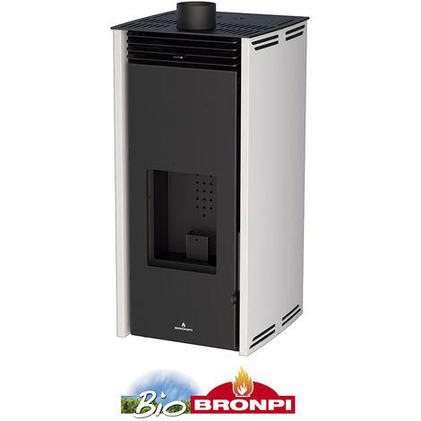 Estufa de pellets sin electricidad Bronpi Free 6