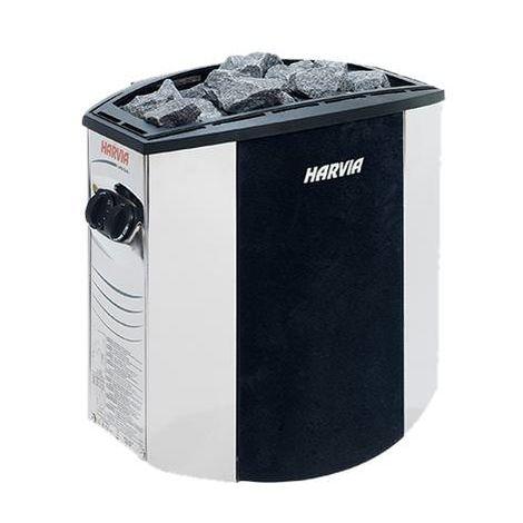 Estufa eléctrica Harvia Vega Lux 8000W cm 50x34x51 MPCSHOP SN-HARVIA-BX80