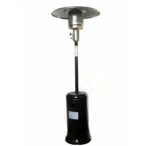 ESTUFA EXTERIOR GAS C/R NEGRO 65000-N