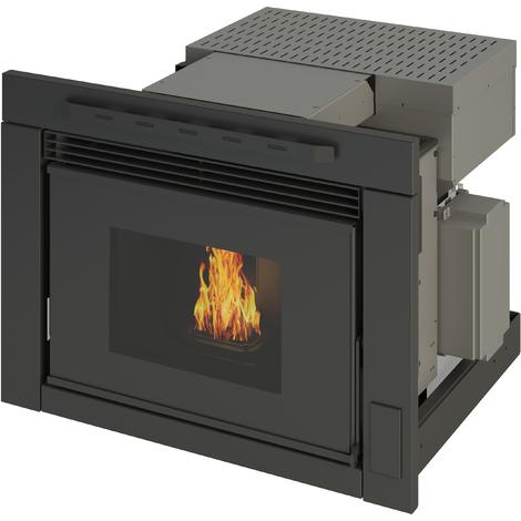 Estufa insertable de pellets Tera 8 kW