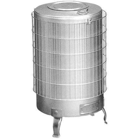 Estufa leña aluminio sin parrilla interior Theca 14 KW