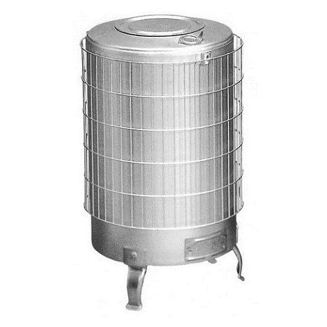 Estufa leña aluminio sin parrilla interior Theca 15 KW