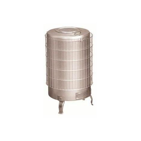 Estufa leña de aluminio con parrilla interior Theca 12 KW