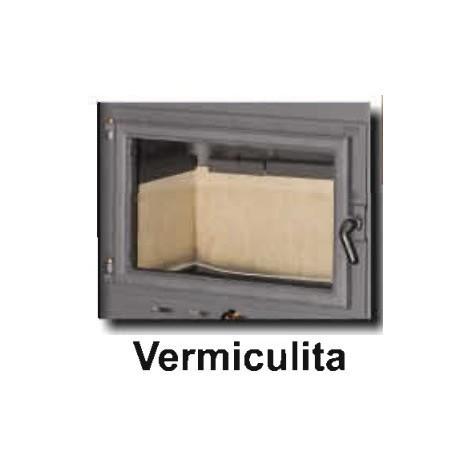 Estufa Leña Negra Salida Vertical 110 Mm - Theca - Oslo 6500400