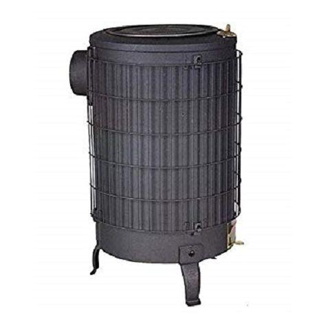 Estufa leña negra sin parrilla interior Theca 14,5 KW