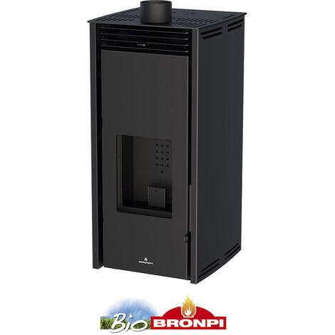 Estufa Pellet 6 Kw Sin Electricidad + Kit De Canalizacion